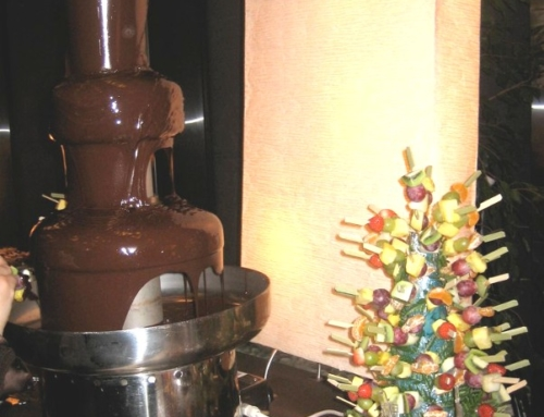 Animation Fontaine à Chocolat 80cm