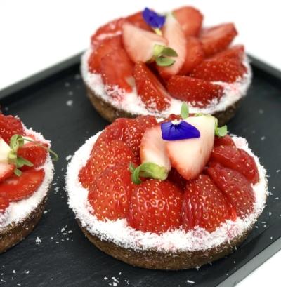 tarte fraise strawberry harry traiteur catering bourget paris